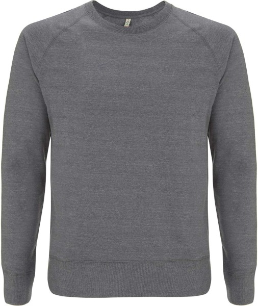 Recycled Unisex Sweatshirt Baumwolle & Polyester - melange heather
