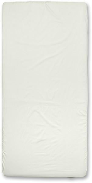 Spannbettuch aus Bio-Baumwolle - natur - 100 x 200 cm