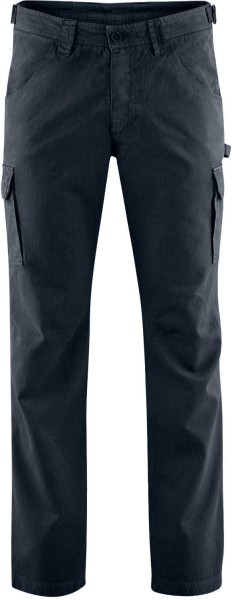 Field Pants - Cargohose aus Hanf und Bio-Baumwolle - graphit - Bild 1