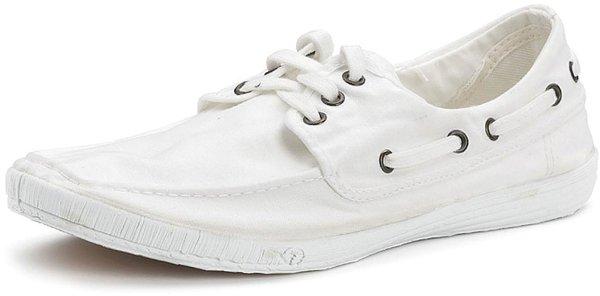 Nautico - Schnürschuhe aus Bio-Baumwolle - blanco - Bild 1