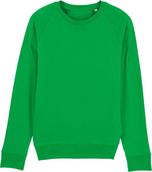 Sweatshirt aus Bio-Baumwolle - fresh green
