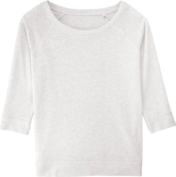Amazes - Sweater aus Biobaumwolle - cream heather grey