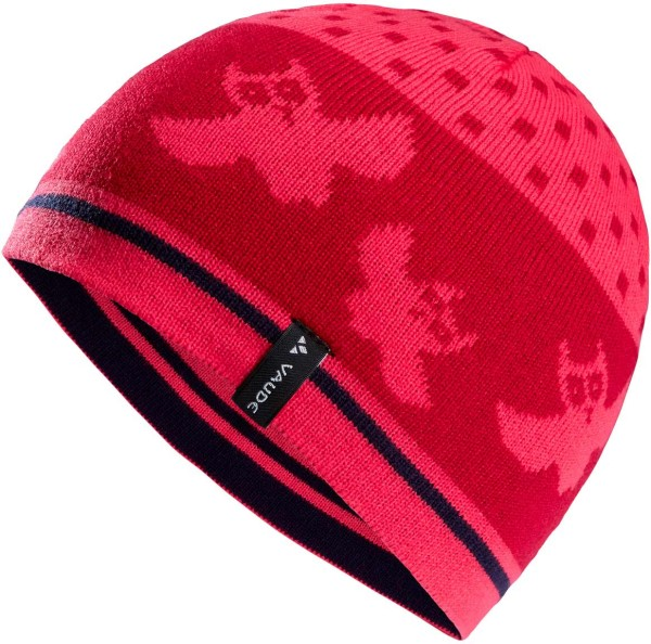 Kinder Mütze Berg Beanie II - bright pink