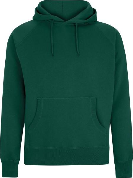 Pullover Hooded Sweatshirt - bottle green