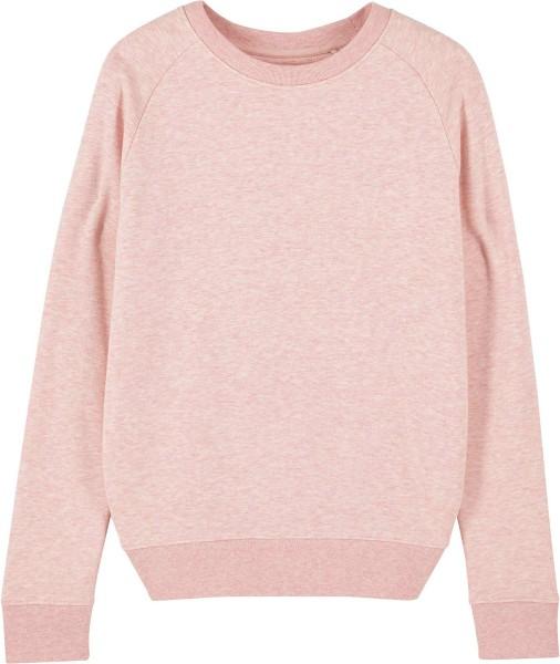 Sweatshirt aus Bio-Baumwolle - cream heather pink