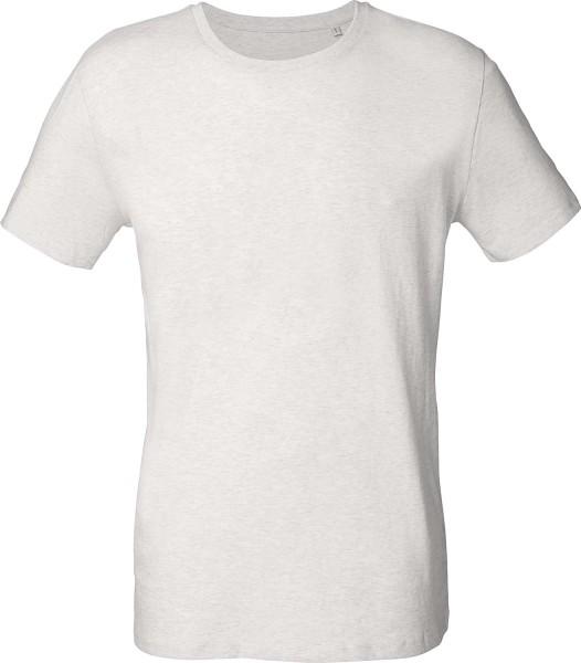 Leads - T-Shirt aus Bio-Baumwolle - cream heather grey
