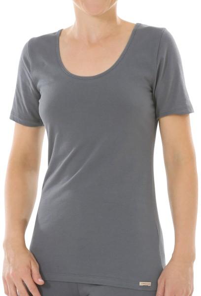 Comazo Rundhals T-Shirt anthrazit bio 1-30-2764