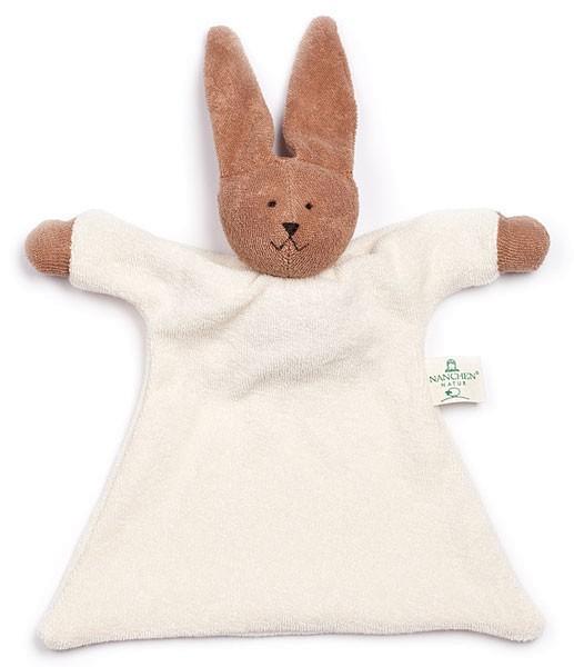 Nuckeltier Hase Schmusepuppe/Tuch aus Bio-Baumwolle - Bild 1
