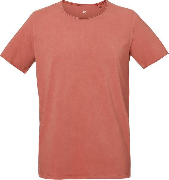 Bio T-Shirt aus 100% Bio-Baumwolle mit Vintage-Färbung