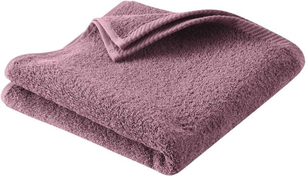 Handtuch aus Bio-Baumwolle 100x50 cm light plum