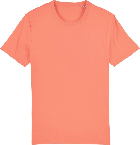 T-Shirt aus Bio-Baumwolle - sunset orange