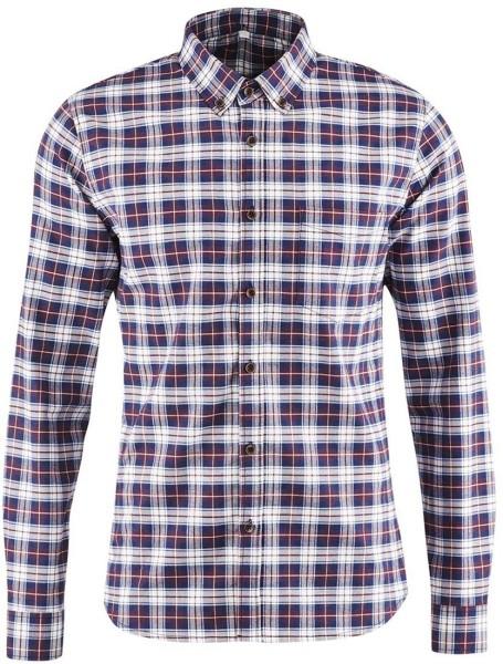 Flanell-Hemd aus Biobaumwolle - ruby check