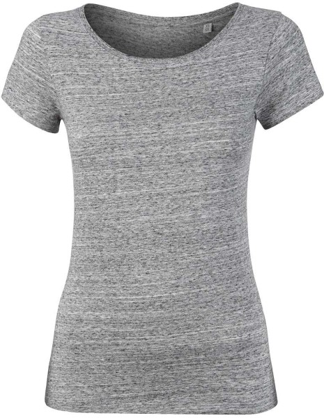 Wants - T-Shirt aus Bio-Baumwolle - slub heather grey - Bild 1