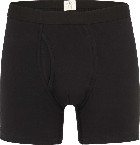 Boxer-Shorts aus Bio-Baumwolle - schwarz
