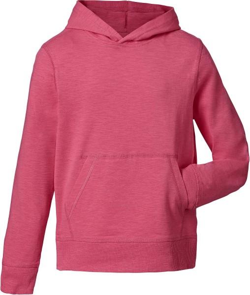 Kinder Longsleeve aus Biobaumwolle - Mini Bloom - camelia pink
