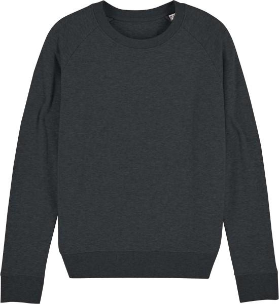 Sweatshirt aus Bio-Baumwolle - dark heather grey