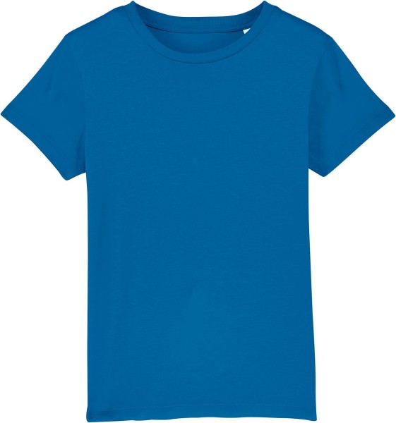 Kinder T-Shirt aus Bio-Baumwolle - royal blue