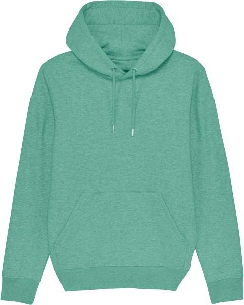 Unisex Hoodie aus Bio-Baumwolle - mid heather green