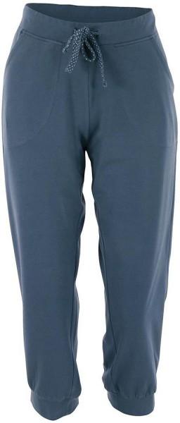 Damen 3/4-Relax-Hose aus Bio-Baumwolle - china blue