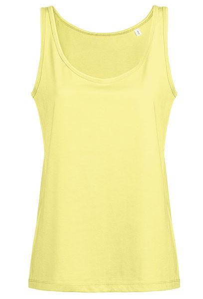 Wishes - Weites Tank-Top aus Bio-Baumwolle - iris yellow - Bild 1