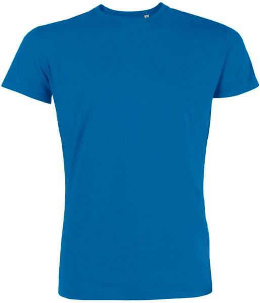 Leads - Kurzarmshirt aus Bio-Baumwolle - blau - Bild 1