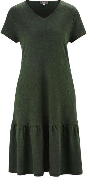 Kleid aus Bio-Leinen - amazonas