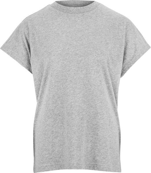 Fairtrade T-Shirt Madhu aus Bio-Baumwolle - grau-melange