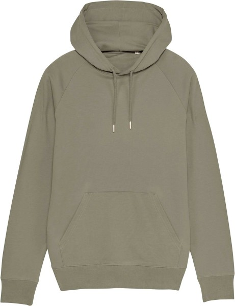 Raglan-Hoodie aus Bio-Baumwolle - light khaki