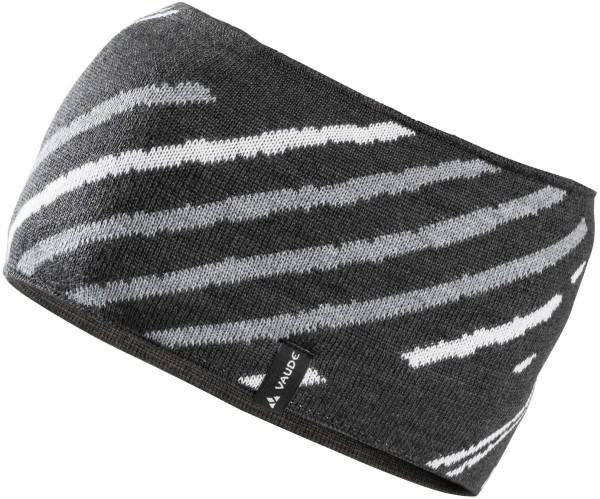 Stirnband schwarz Headband Back Bowl VAUDE fair