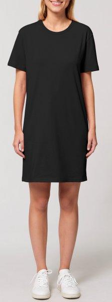 Jersey-Kleid aus Biobaumwolle - Model
