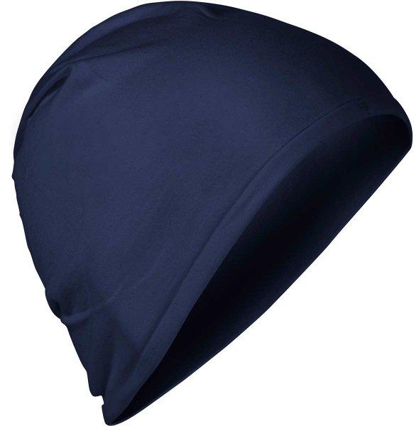 Fairtrade Jersey-Mütze aus Bio-Baumwolle - navy - Bild 1