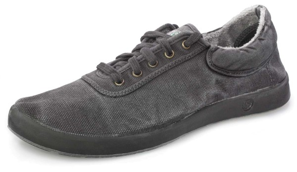 Basket Sport Enzimatico - Schnürschuhe aus Bio-Baumwolle - negro