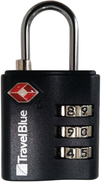 Zahlenschloss TSA Combination Lock black VAUDE