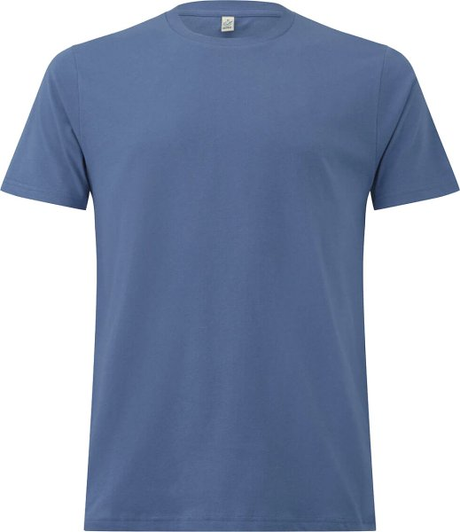 Organic T-Shirt CO2-neutral - faded denim