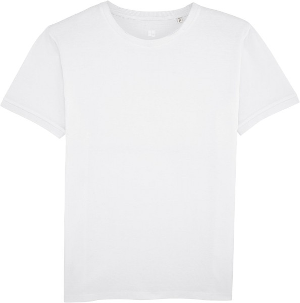 Piqué-Shirt aus Bio-Baumwolle - white