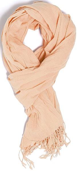 Wrap - Schal aus Bio-Baumwolle - pale peach - Bild 1
