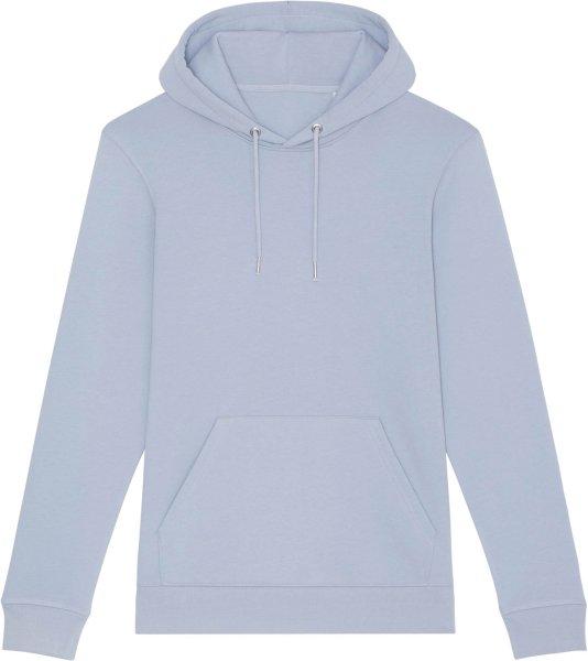 Unisex Hoodie aus Bio-Baumwolle - serene blue