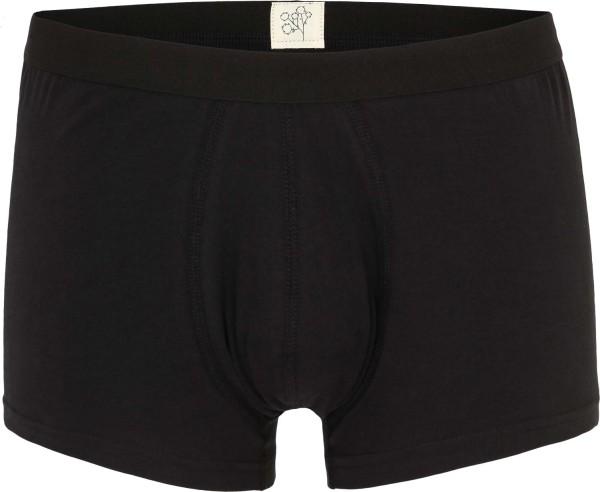 Trunk-Shorts aus Bio-Baumwolle - schwarz
