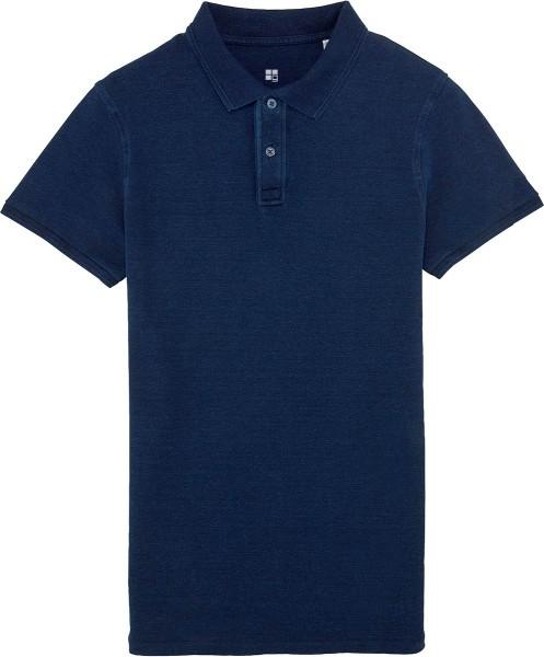Performs denim - Poloshirt im Denim-Look - für Herren