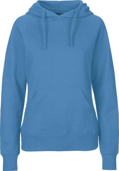 Hooded Sweatshirt aus Fairtrade Bio-Baumwolle - dusty indigo