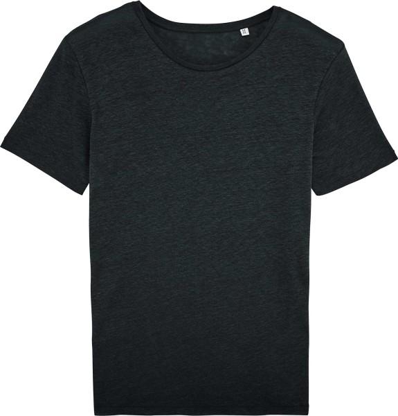 Enjoys Linen - T-Shirt aus Leinen - schwarz - Bild 1