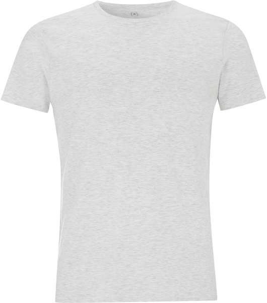 Unisex Slim-Cut T-Shirt melange white