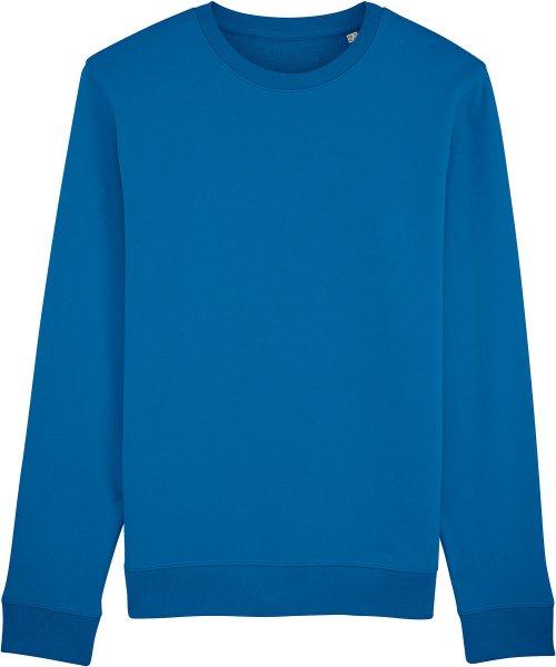 Unisex Sweatshirt aus Bio-Baumwolle - royal blue