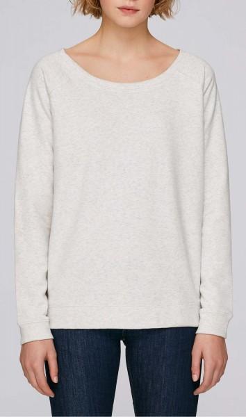 Escapes - Sweatshirt aus Bio-Baumwolle cream heather grey - Bild 1