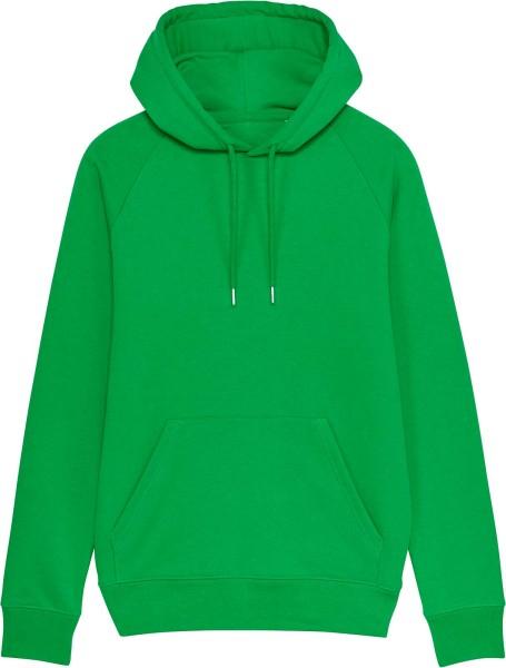 Raglan-Hoodie aus Bio-Baumwolle - fresh green