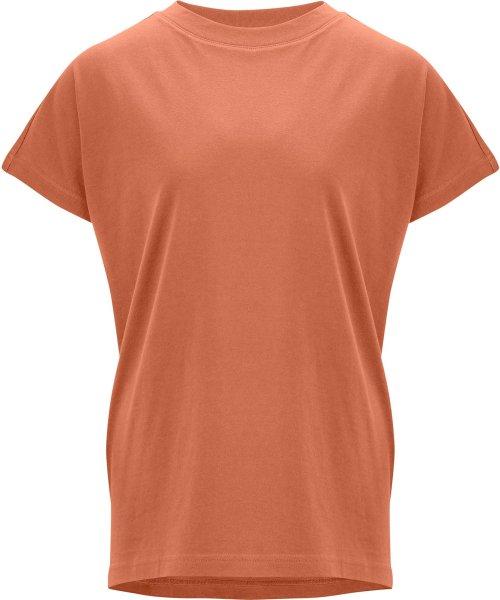 Fairtrade T-Shirt Madhu aus Bio-Baumwolle - sienna orange