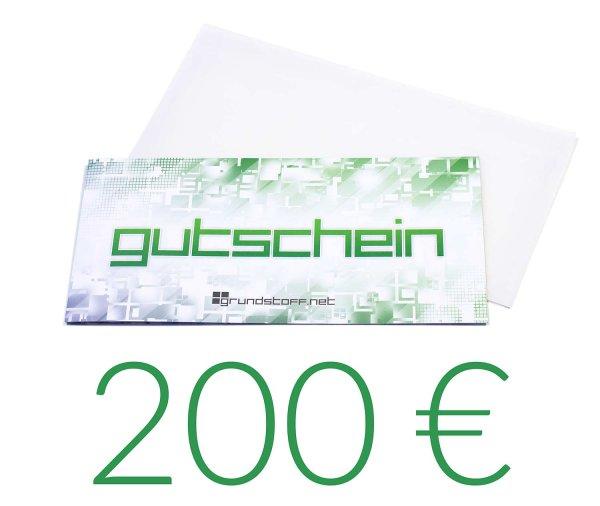 200,- EUR Geschenkgutschein - neutrales Design - Bild 1