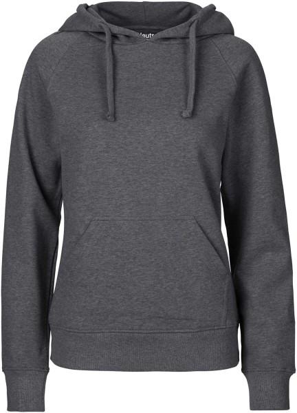 Hooded Sweatshirt aus Fairtrade Bio-Baumwolle - dark heather