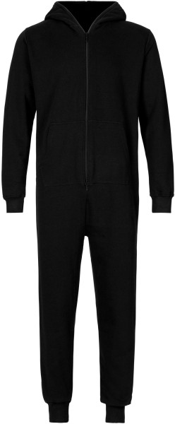 Unisex Jumpsuit aus Fairtrade Bio-Baumwolle - black