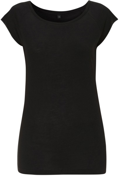 Frauen T-Shirt Bamboo schwarz N43